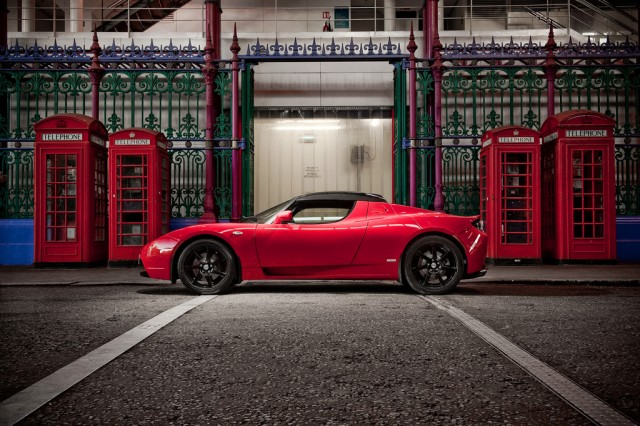 Tesla Roadster S. Photograph James Lipman / jameslipman.com UK 07803 885275