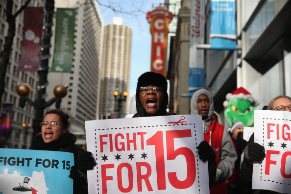 Fight for 15 rally