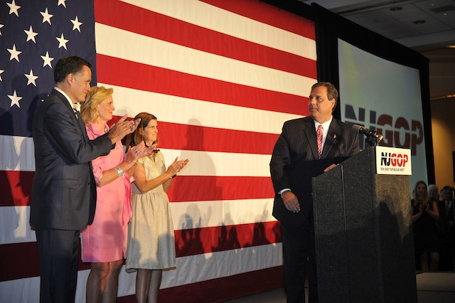 Gov. Christie Celebrates Birthday With Mitt Romney In New Jersey