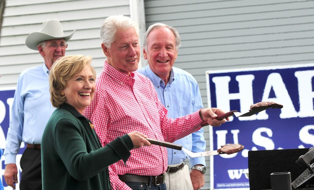 Hillary Clinton and Bill Clinton