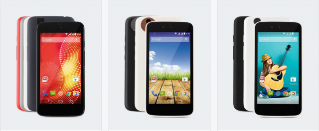 Android One phones - Karbonn Sparkle V, Micromax Canvas A1, Spice Dream UNO