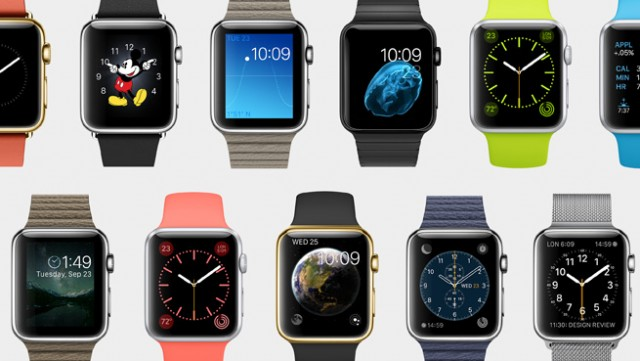 Apple Watch faces are customizable