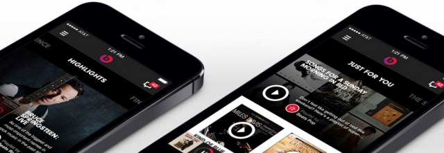 Beats Music iOS app