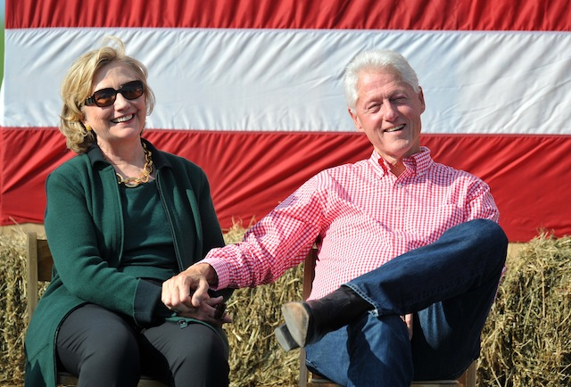 Hillary Clinton Attends Annual Tom Harkin Steak Fry In Iowa