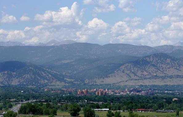 The city of Boulder, Colorado