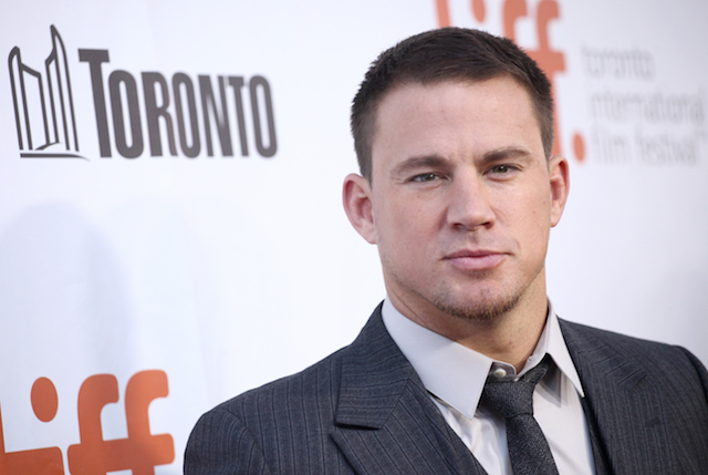Channing Tatum poses for cameras at the red carpet for the Toronto International Film Festival