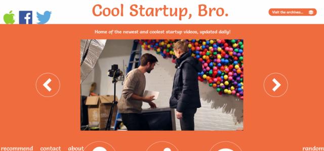 Cool Startup, Bro