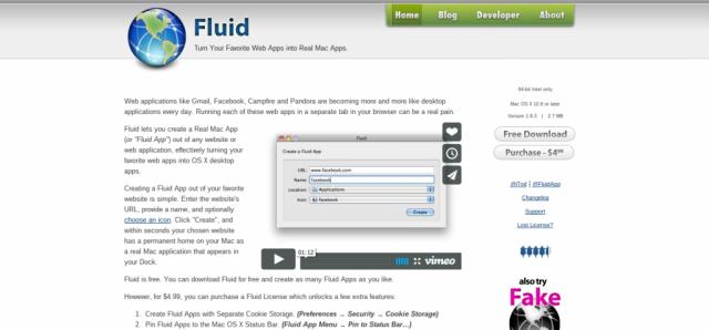 Fluid app