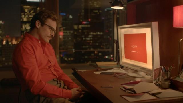 Joaquin Phoenix in Spike Jonze's Her
