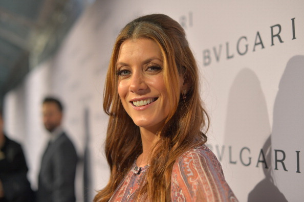 Actress Kate Walsh, wearing BVLGARI, arrives at the BVLGARI celebration