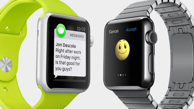 Receive and send messages from the Apple Watch