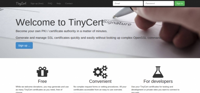 TinyCert