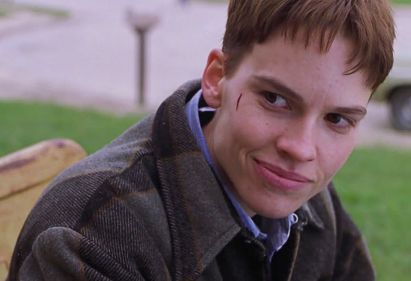 Hilary Swank, Brandon Teena, Boys Don't Cry