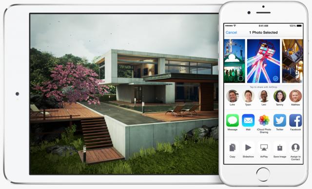 iOS 8 AirDrop