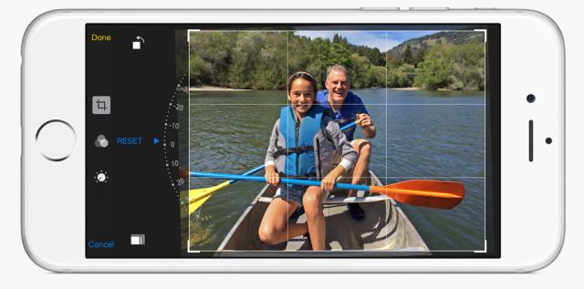 iOS 8 Photos app