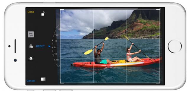 iPhone 6 Photos app