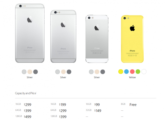 iPhone models compared