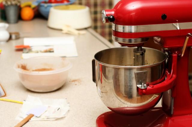 mixer, mixing, baking, cooking