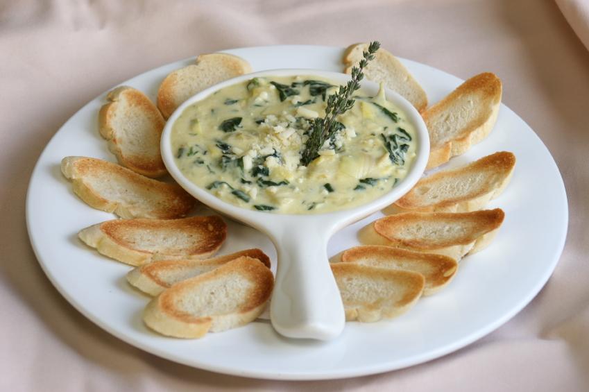 creamy spinach and artichoke dip