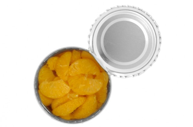 canned fruit