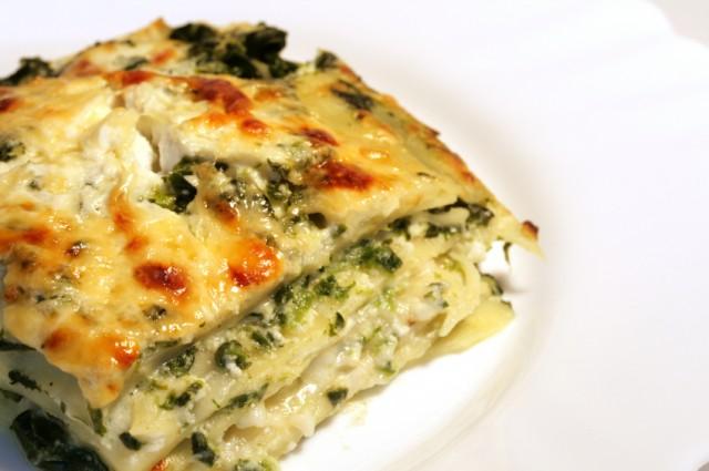 lasagna on a plate