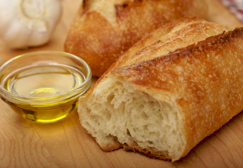 Sourdough bread is an excellent source of healthy carbs.