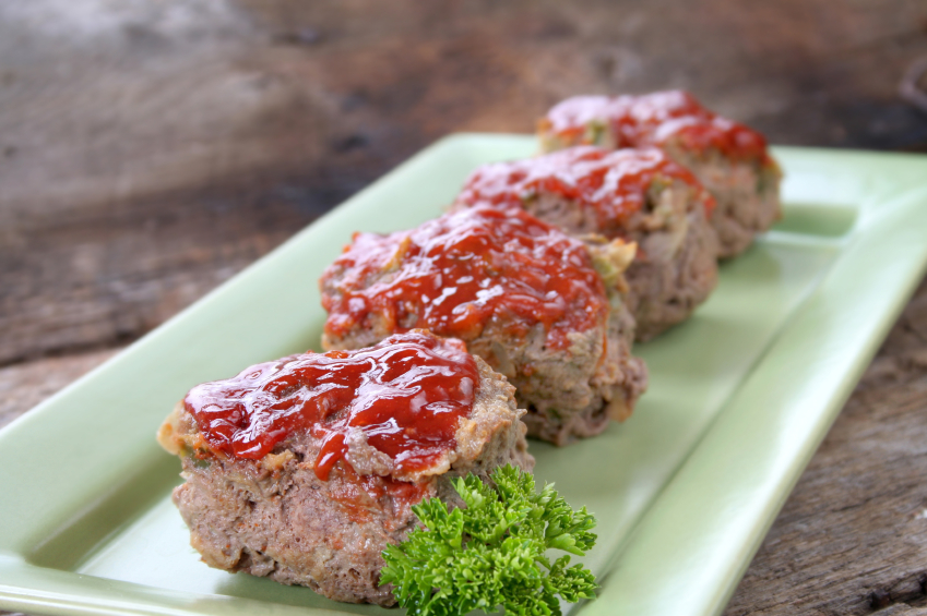 individual meatloaves