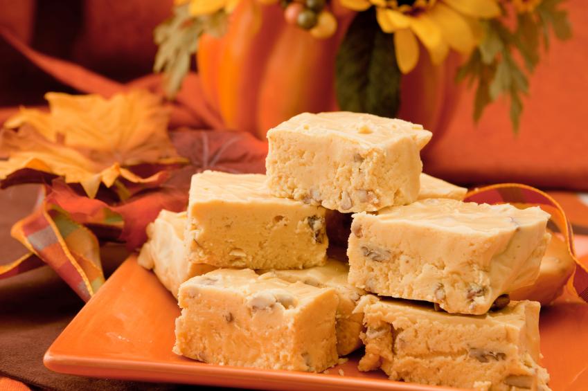 maple almond fudge