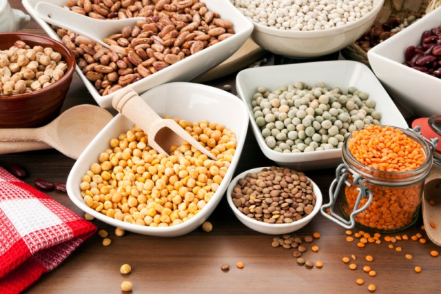 selection of legumes