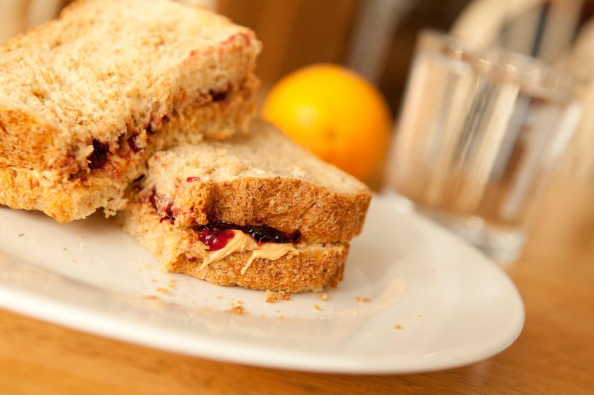 Peanut Butter and Jelly Sandwich, PBJ