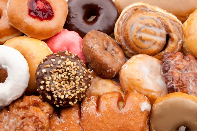 Doughnuts definitely satisfy a sugar craving, but they're not so healthy