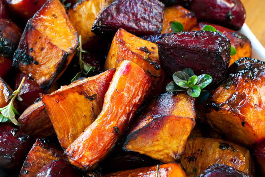 Sauted root vegetables