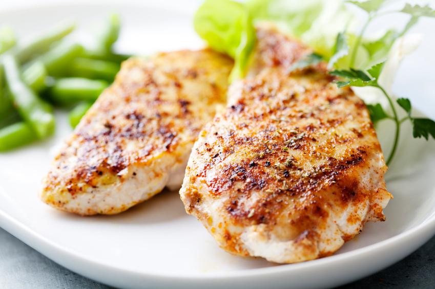 chicken breasts