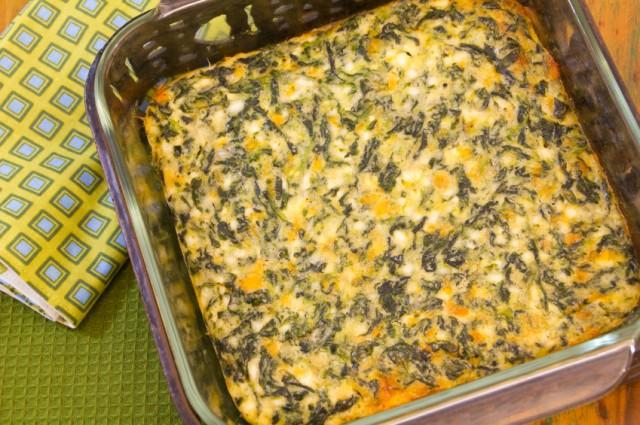 Spinach Cheese Casserole