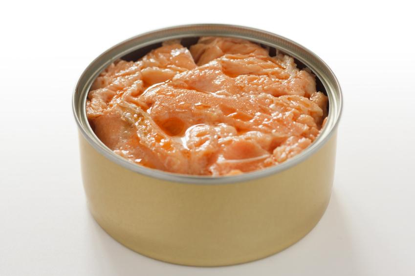 Tin of salmon