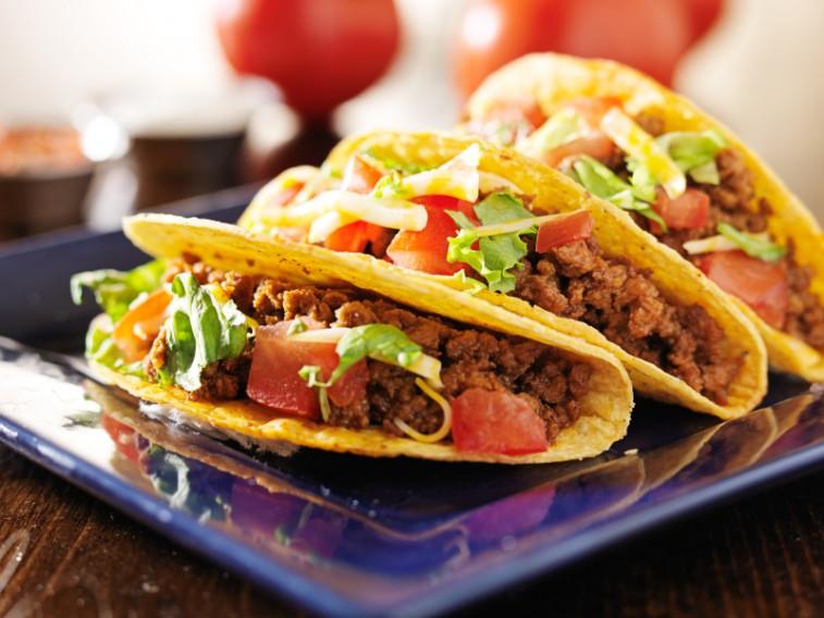 buffalo beef tacos