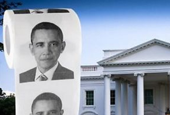 Obama Toilet Paper on eBay