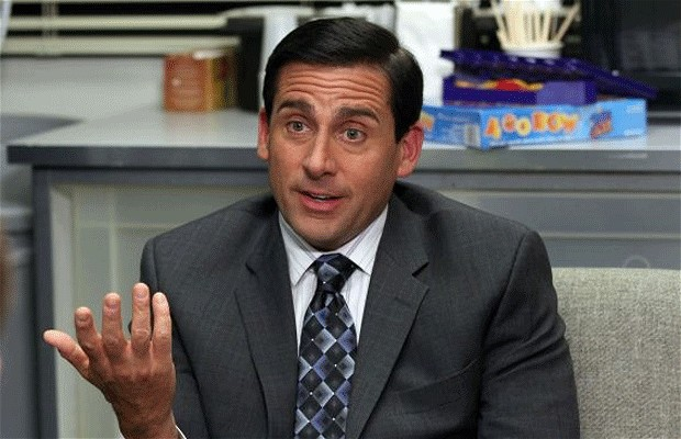 Steve Carrel in 'The Office'.