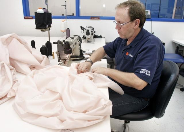 Auto Parts Maker Takata Demonstrates New Crash Test Facility