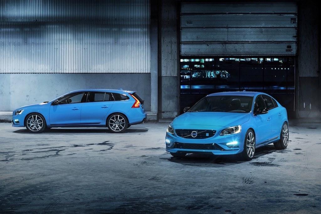 The 2014 Volvo V60 and the 2014 Volvo S60 Polestars