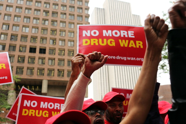 Activists Demonstrate In Favor Of Easing Arrests For Small Quantity Marijuana Possession