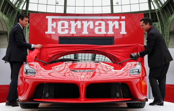 Ferrari LaFerrari unveiling