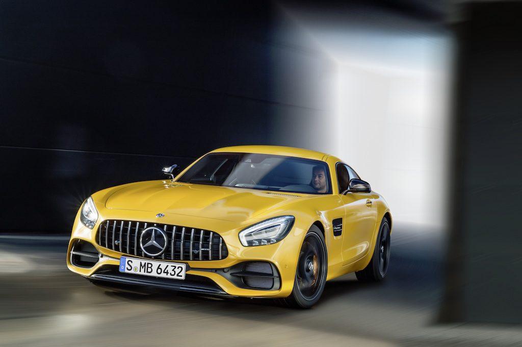Mercedes benz fastest car