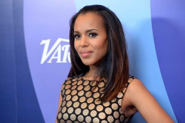 Honoree Kerry Washington arrives at Variety's 5th Annual Power of Women event