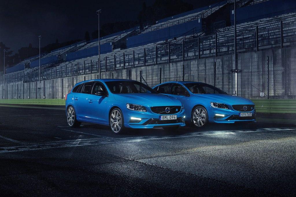 2017 Volvo V60 and S60 Polestars