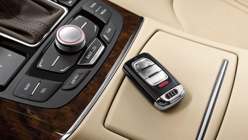 2013-Audi keyless entry