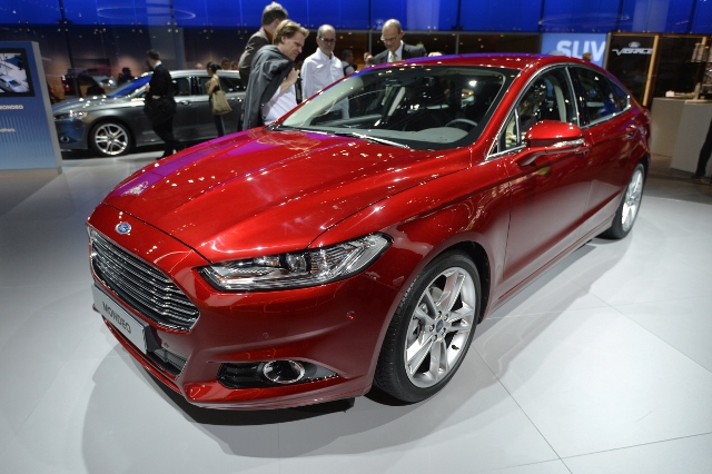 FRANCE-AUTO-SHOW-FORD