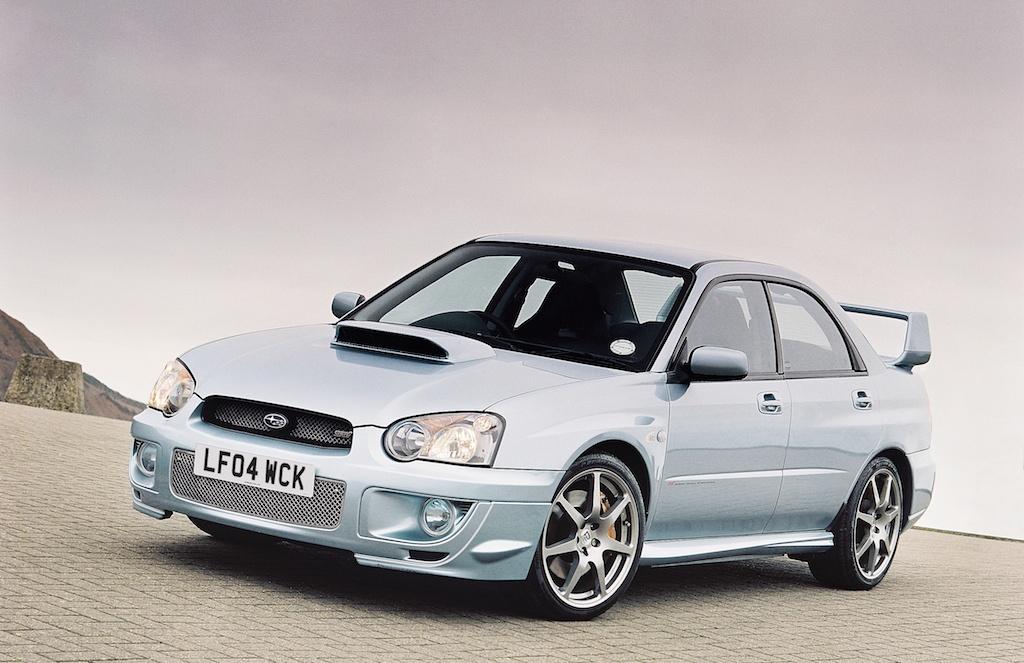 2004 Subaru WRX STI WR1