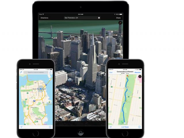Apple Maps iOS 8