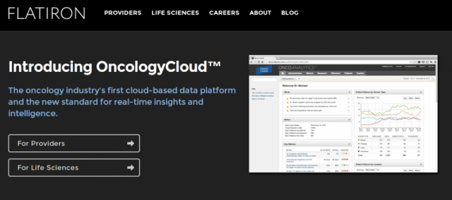 Flatiron OncologyCloud digital health